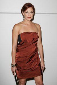 Аманда Ригетти в платье